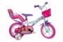 "Bicicleta copii 12"" - Barbie la plimbare"