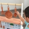 Bucatarie Artisan Island Toddler Play Kitchen - Kidkraft