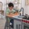 Bucatarie Chef's Cook N Create Island Play cu EZ Kraft Assembly ™ - Kidkraft
