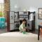 Bucatarie pentru copii Ultimate Corner Play cu lumini & Sunete, Espresso - KidKraft