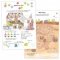 Carte cu activitati si abtibilduri - Tabla inmultirii
