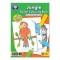Carte de colorat cu activitati in limba engleza si abtibilduri Jungla JUNGLE