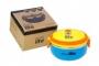 Castron termos rotund 700 ml, EcoLife - Culoare - Albastru cu galben