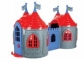 Casuta de joaca dubla DRAGON CASTLE WITH TWIN TOWERS - Pilsan