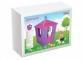 Casuta de joaca pentru copii, mov -  STONE HOUSE PURPLE