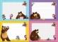 Desenam impreuna cu Masha si ursul