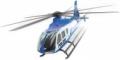 ELICOPTER DIN METAL AIRBUS EC 135 ALBASTRU