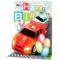 Felicitare 3D muzicala aniversara Masina de curse