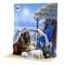 Felicitare 3D pop-up cu sunet Nasterea Domului Isus Christos