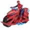 Figurina Spider-Man cu Motocicleta