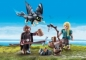HICCUP, ASTRID SI PUI DE DRAGON