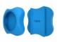 Kit localizator bluetooth Lapa+suport din silicon pentru atasat la zgarda - Culoare - Bleu