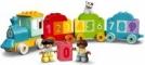 LEGO® DUPLO PRIMUL MEU TREN CU NUMERE - INVATA SA NUMERI 10954