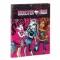 Mapa cu elastic A4 separatoare colectia Monster High