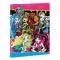 Mapa multicolora cu elastic A4 Monster High