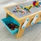 Masa de construit Building Bricks Play N Store - KidKraft