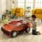 Masina auto de activitati Speedway Play N Store – Kidkraft