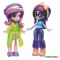MY LITTLE PONY SET FIGURINE EQUESTRIA GIRLS: TWILIGHT SPARKLE & PRINCESS CADANCE