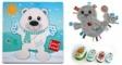Pachet 2 Label Label minipaturica, puzzle si 4 cutii sandwich - Produsul 1 - urs polar, foca