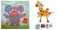 Pachet 2 Label Label minipaturica, puzzle si 4 cutii sandwich - Produsul 1 - urs polar, leu