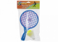 "Paleta tenis 10"" cu minge si fluturas"