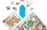 Puzzle cu surprize - Makermax (100 piese)