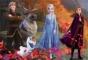 Puzzle de colorat - Frozen II (108 piese)