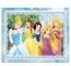 Puzzle de colorat - In lumea Printeselor  (108 piese)