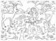 Puzzle de colorat maxi - Alba ca Zapada (150 piese)