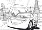 Puzzle de colorat maxi - Cars 3 (35 piese)