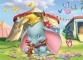 Puzzle de colorat maxi - Dumbo (35 piese)