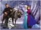 Puzzle de colorat maxi - Elsa si prietenii (60 piese)