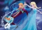 Puzzle de colorat maxi - Frozen (35 piese)