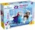 Puzzle de colorat maxi - Frozen la patinoar (24 piese)