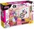 Puzzle de colorat maxi - Minnie in vizita (24 piese)
