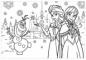 Puzzle de colorat - Regatul de gheata (60 piese)