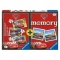 Puzzle + Joc Memory Disney Cars, 3 Buc In Cutie 15/20/25 Piese