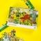 Puzzle - Padurea fermecata a animalutelor (80 piese)