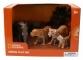 Set 4 figurine - Leopard, Elefant, Tigru si Pui Tigru
