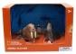 Set 4 figurine - Morsa, Foca, Pinguin si Pui Pinguin