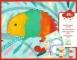 Set creativ Djeco, Bebe apasă și pictează