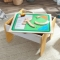 Set de joaca 2 in 1 Activity Table with Building Bricks Board - KidKraft
