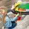 Set de joaca Freeway Frenzy Raceway Set and Table - Kidkraft