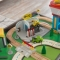 Set de joaca My Own City Vehicle cu masa de activitati si desenat cu EZ Kraft Assembly™ - Kidkraft