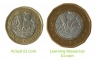 Set de monede de jucarie (1 lira sterlina)