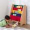 Spatiu depozitare carti Sling bookshelf, Primary & Natural - Kidkraft