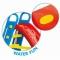 Tobogan mare pentru copii - viu colorat