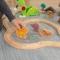 Trenulet din lemn Bucket Top Dinousaur – Kidkraft