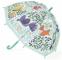 Umbrelă Djeco flori și păsări