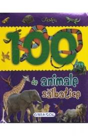 100 de animale salbatice